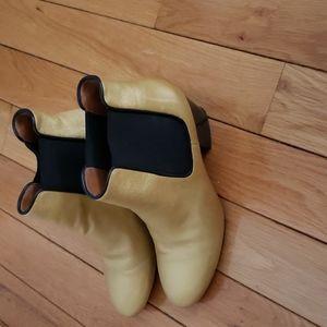 MISSONI Gold Chelsea Boots